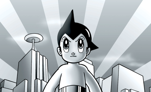 On the trails of Astro Boy: