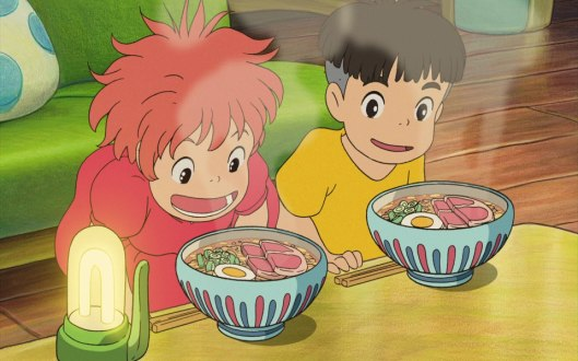 If you are going to watch Ponyo, I would recommend planning a ramen dinner afterwards!