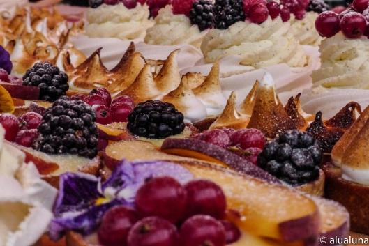# Sweet treats (Poppy's Kitchen, Notting Hill Farmers' Market).