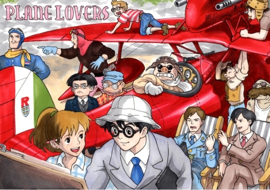 ghibli plane lovers