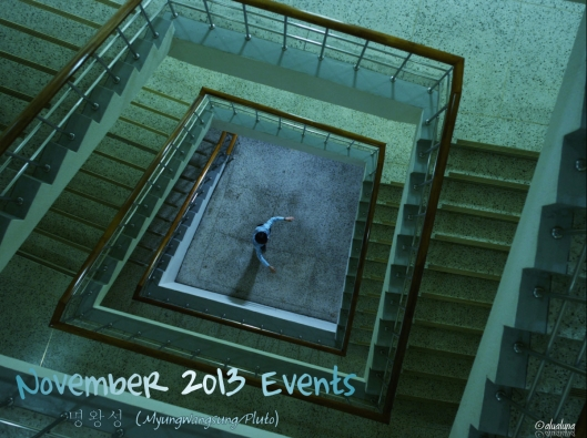 November 2013 events header