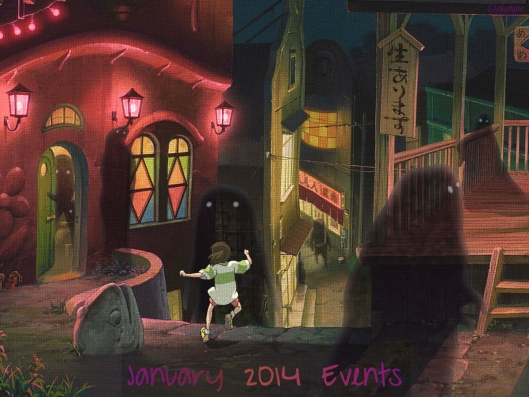 January 2014 Events header