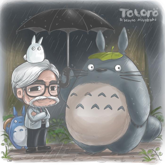 Fanart featuring Miyazaki