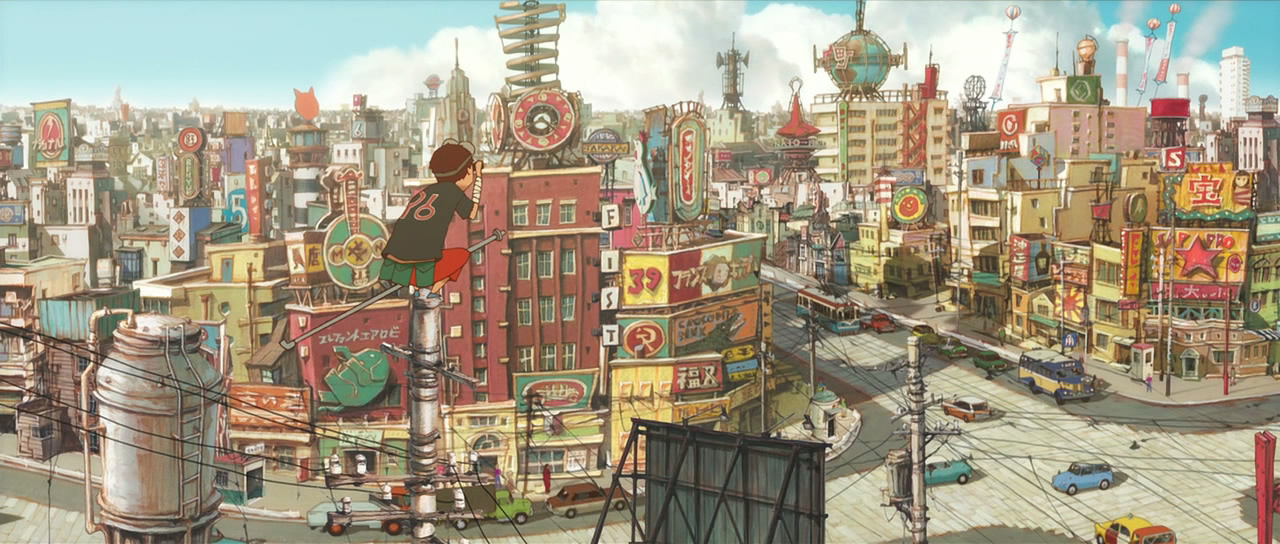Adapting the manga: Tekkonkinkreet.